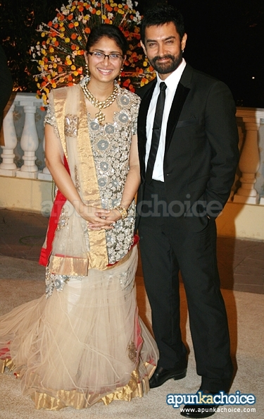Kiran Rao And Aamir Khan Wedding