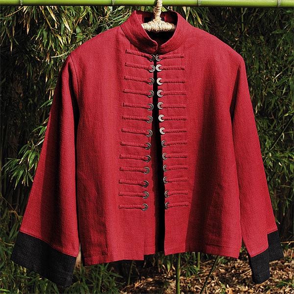 Jacket with Coin Placket (Image Courtesy: Etsy.com)