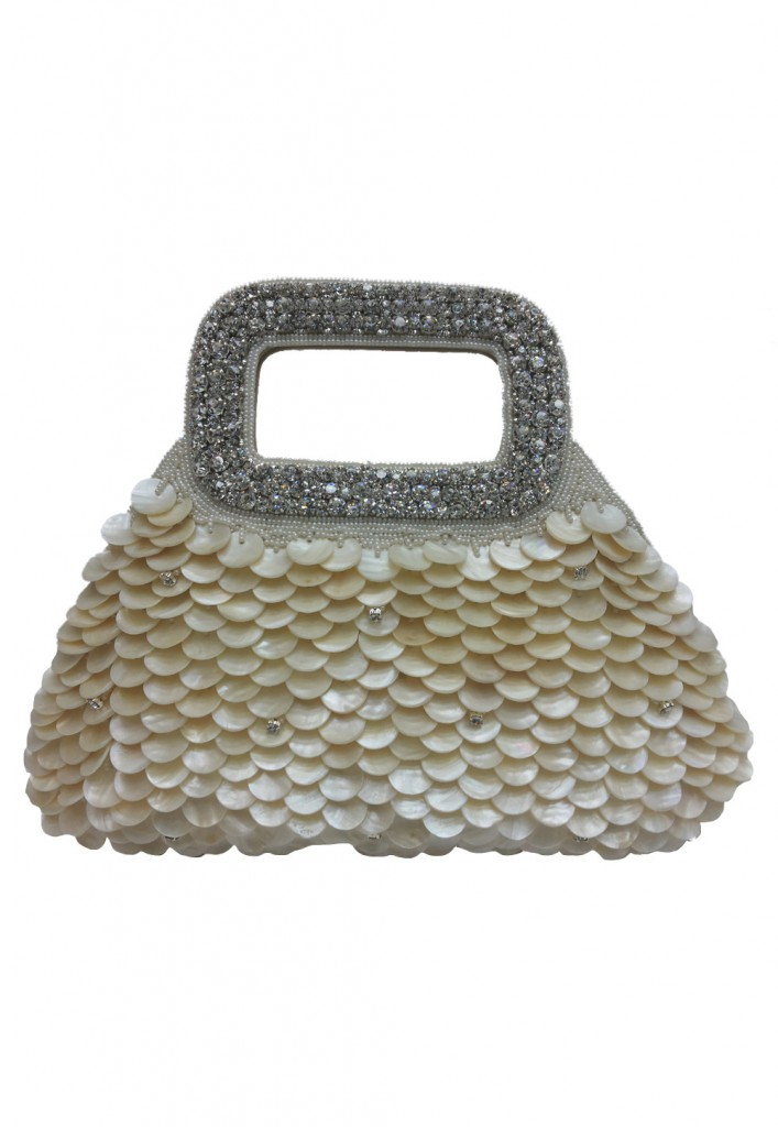 Clutch with Shell work at Utsav Fashion
