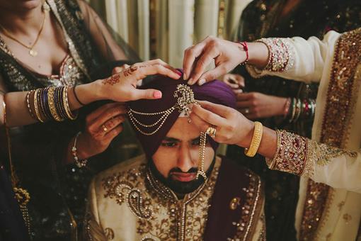 Sehra: Traditional Headdress For Indian Groom | Utsavpedia