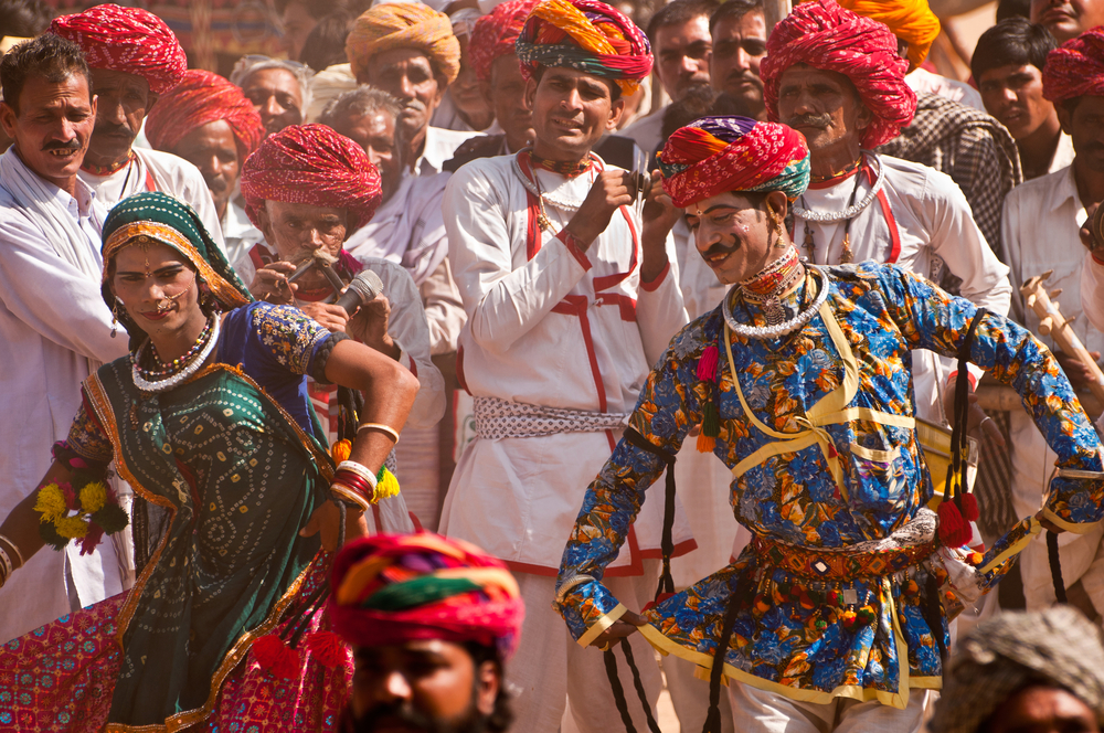 Grace of Bandhani in Folk Dance of Gujarat