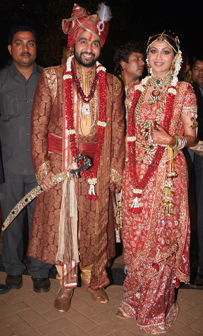 Shilpa Shetty Raj Kundra Wedding Image Courtesy NDTV