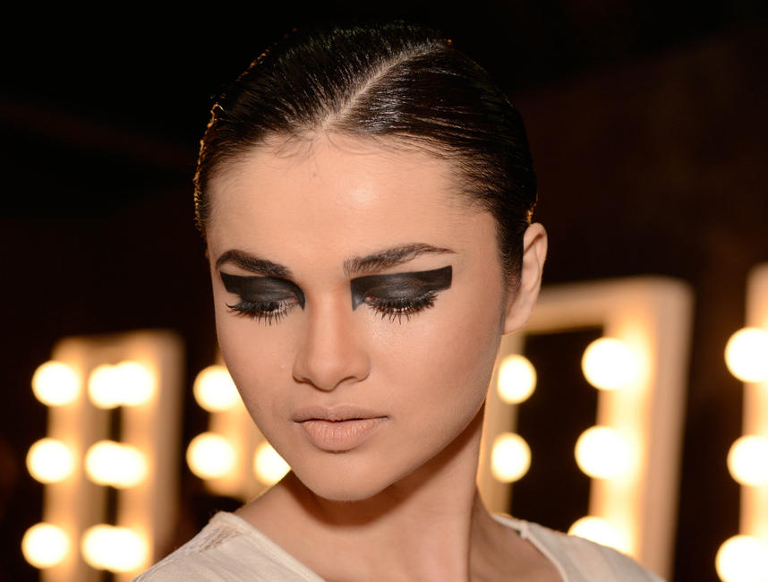 Punk Style Eye Make-Up
