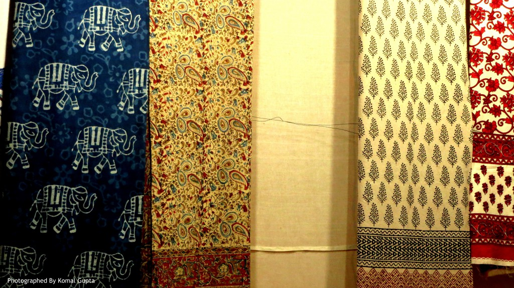 Bedspreads in Sanganer Prints (Photographed By Komal Gupta)