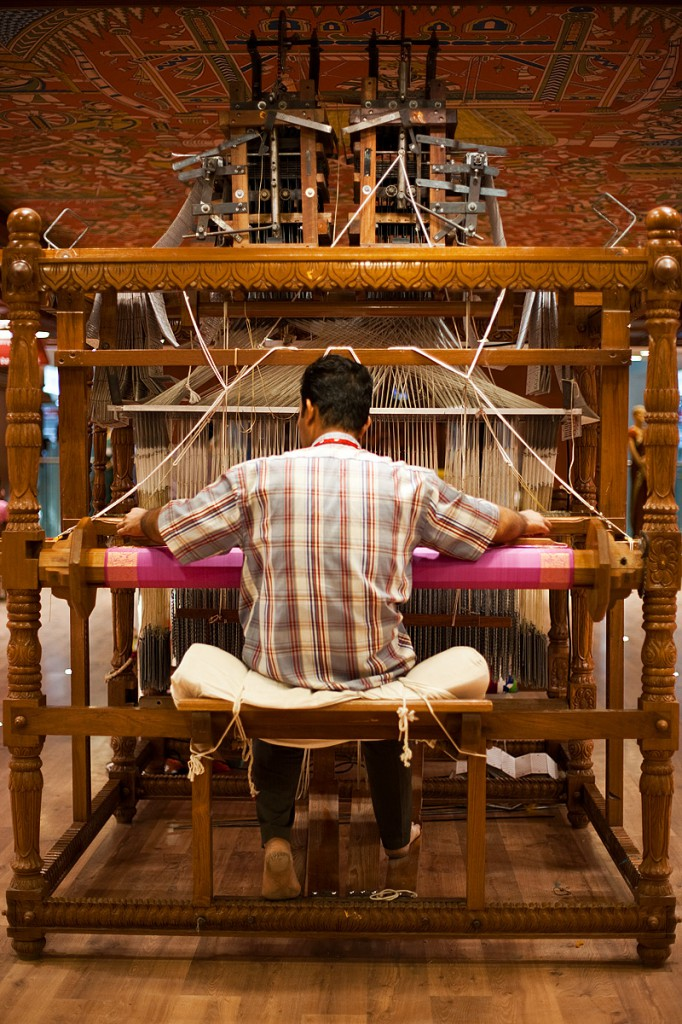 Saree Weaving