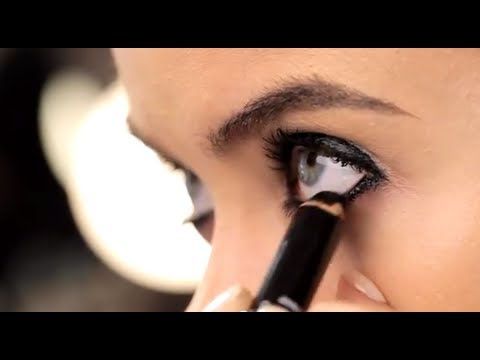 how to put kajal in eyes indian style