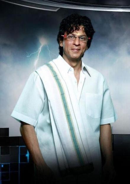 Angavastram worn by Shahrukh (Image: apunkachoice.com)