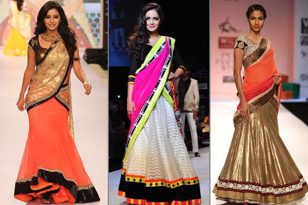 ececc27378 Half Saree: Draping Style, Tradition And Global Appeal | Utsavpedia