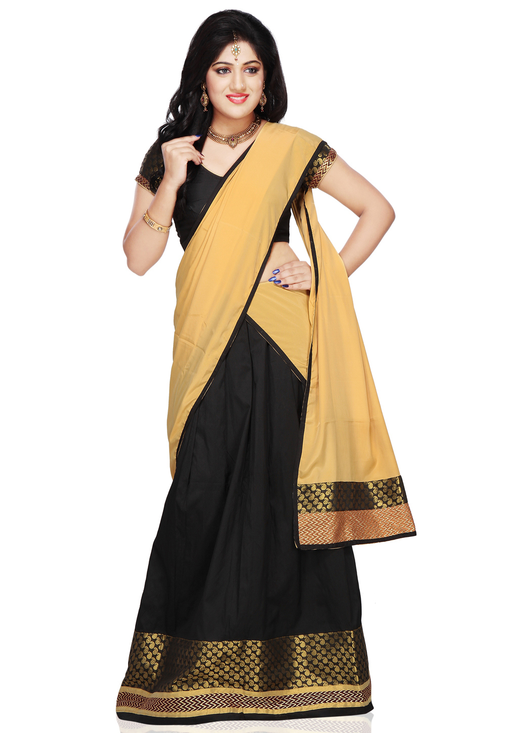 Know About Designer Padva Davani Dress Sarees Collection
