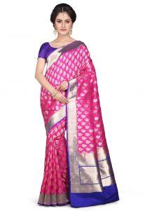 Handloom Pure Katan Silk Saree