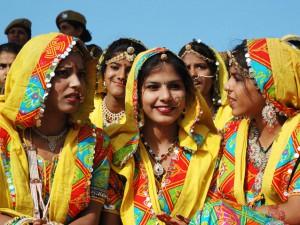 Teej in Gujarat (Image: makemytrip)