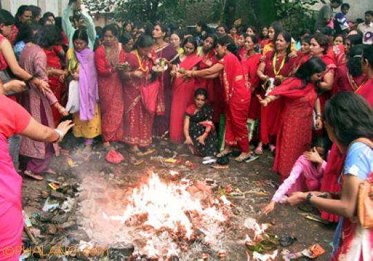 Teej in Bihar (Image: Totalbhakti)