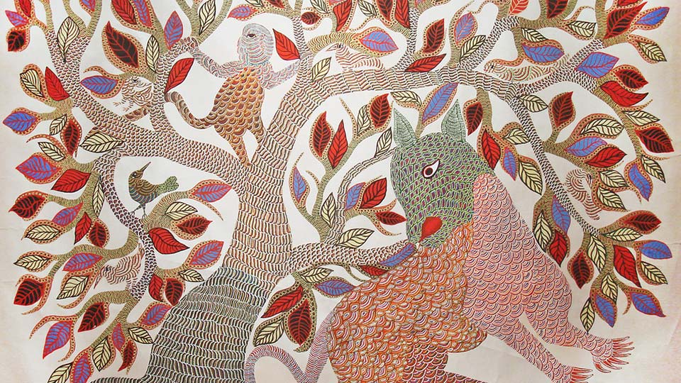 Gond Painting Images