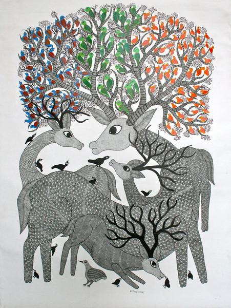 Gond Painting (Image: deccanfootprints)