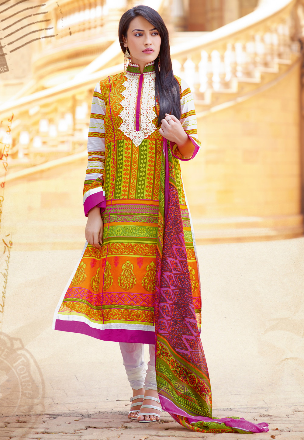 All About Lawn Salwar Suits Inspired From Pakistan