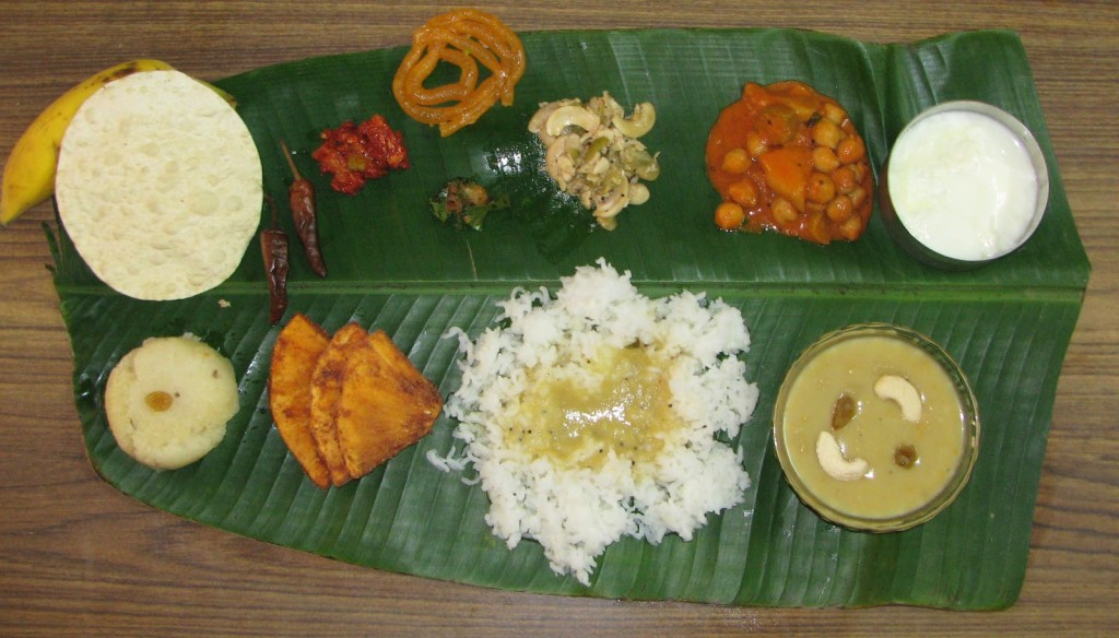 Ugadi special meal (Image: http://shilpa-cookbook.blogspot.in)