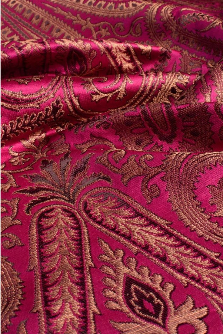 Kinkhwab brocade cloth fabric material utsavpedia for Cloth fabric