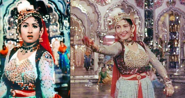 "A screen grab of the song ""Pyar kiya to darna kya"" from the movie (Image: http://indiatoday.intoday.in)"
