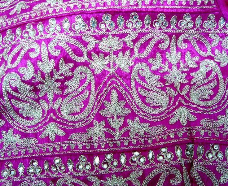 Kasab Work Gold Silver Thread Embroidery Utsavpedia