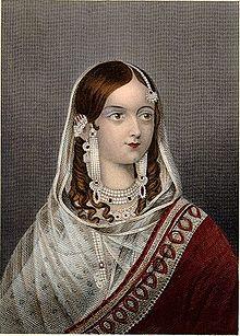 A Portrait of Begum Hazrat Mahal (Image: https://en.wikipedia.org)