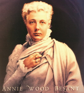 Annie Wood Besant (Image: http://quoteswp.com)