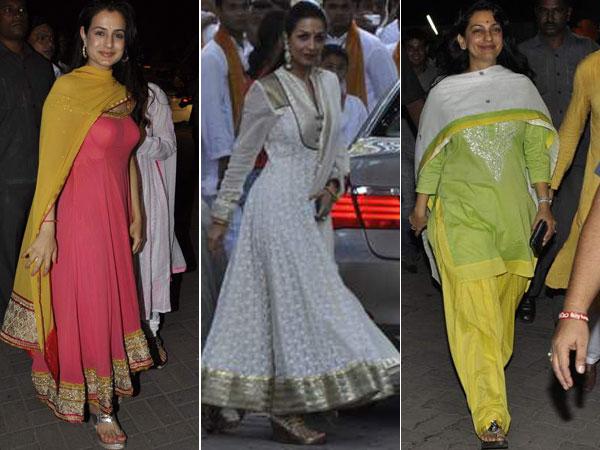 552b849249 Bollywood actresses (L to R) Amisha Patel, Malaika Arora Khan and Juhi  Chawla