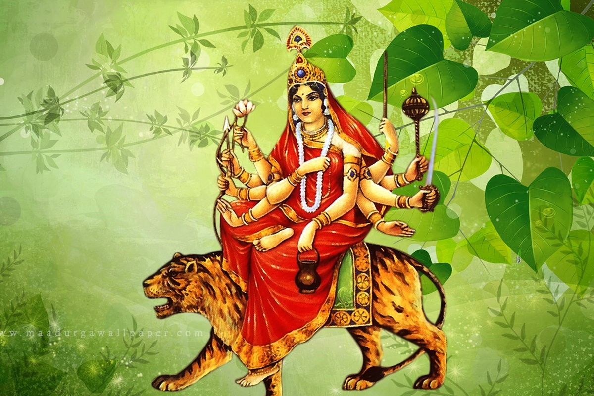 Navratri Day  Worship Devi Chandraghanta