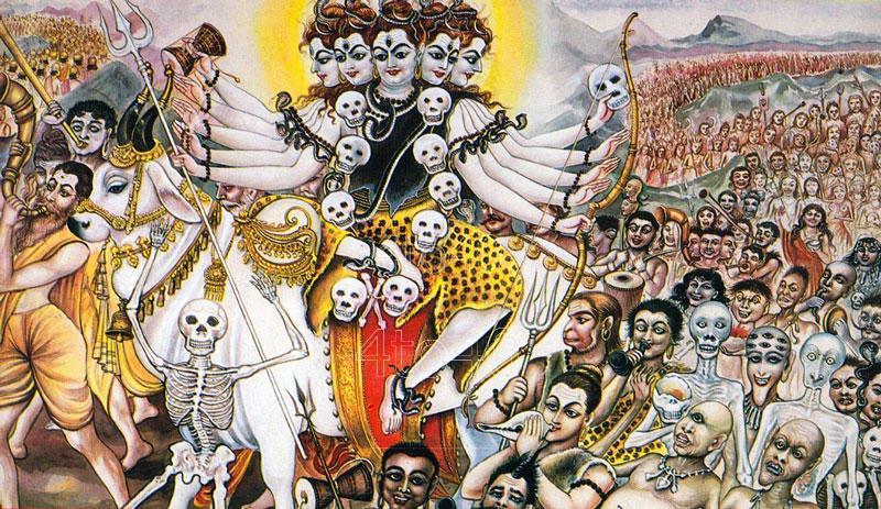 Navratri day worship devi chandraghanta utsavpedia