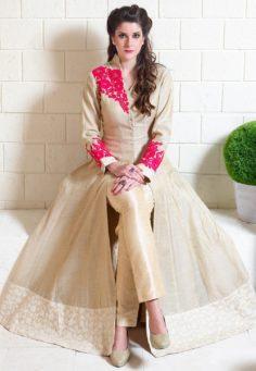 Abaya Style Churidar Kameez