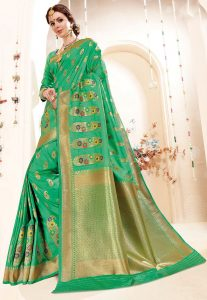 Art Silk Zari Woven Saree