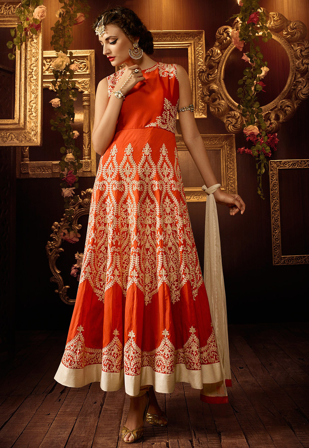 c568a2de75 All About The Grand Anarkali Suits From India   Utsavpedia
